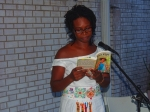 Cindy McKenzie reading from Force Ripe