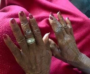 Cathy's Hands
